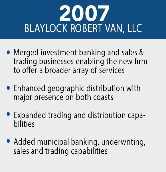 Blaylock Robert Van, LLC - 2007
